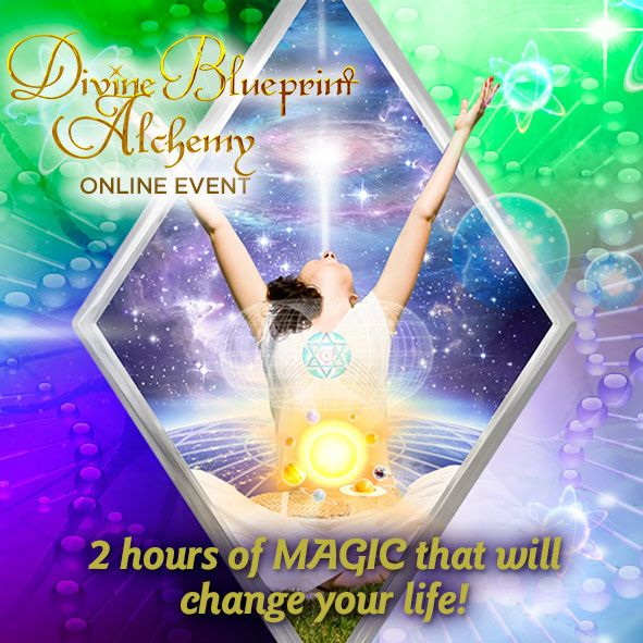 Anchor, Attune to & Activate Your Divine Blueprint NOW!  As YOU enter 2015, its time to fully open to & realise your soul's highest calling! You can make 2015 your best year ever - by accessing this 2 hours of MAGIC like no other, it will change your life! Look no further to realise your highest potential, to fully embody your souls call! To experience more grace, ease & joy in your daily life! This POPULAR Online Multi-media EVENT IS OPEN 31st December 2014 to 3rd January 2015…