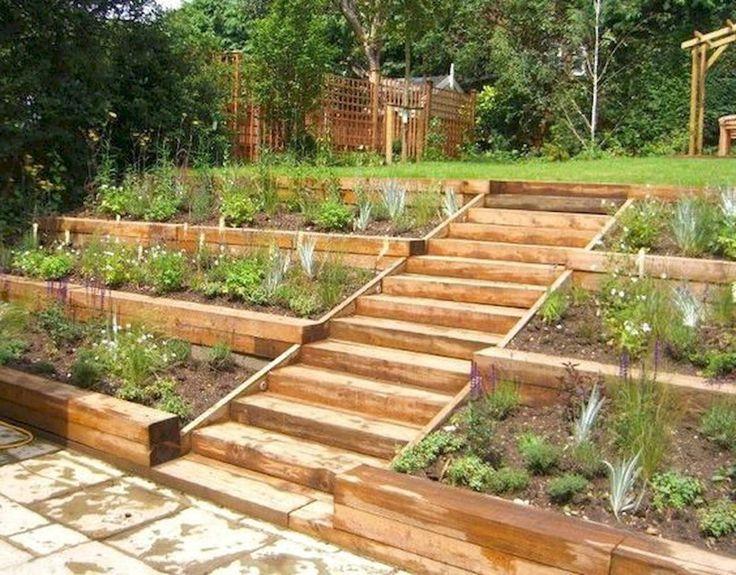35 Excited Vegetables Garden Ideas (33 | Hillside garden ...