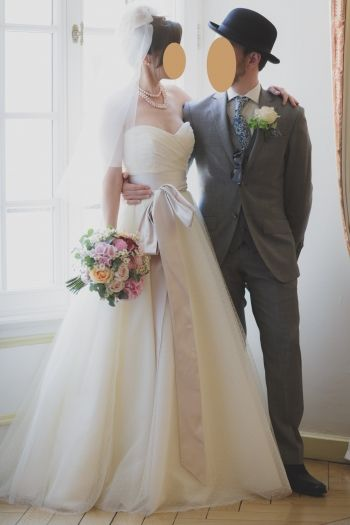 Robe de mariée STEPHANIE ALLIN Blanc