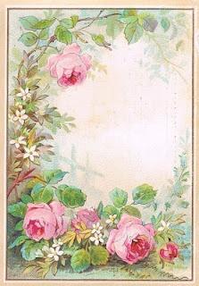 Vintage Images: Roses postcards