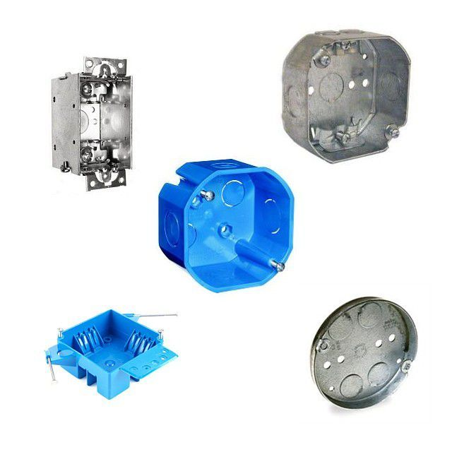 A Handy Visual Guide To Electrical Boxes Metal Electrical Box Diy Electrical Plastic Electrical Boxes
