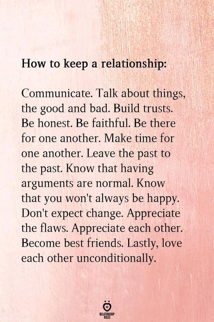 So pflegen Sie eine Beziehung – Keyword …. communic #futurerelationshipquotes …