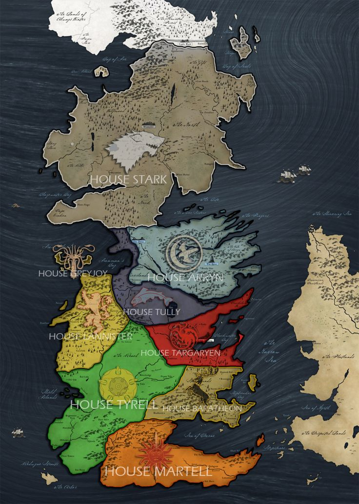 Best 25 Westeros map ideas on Pinterest