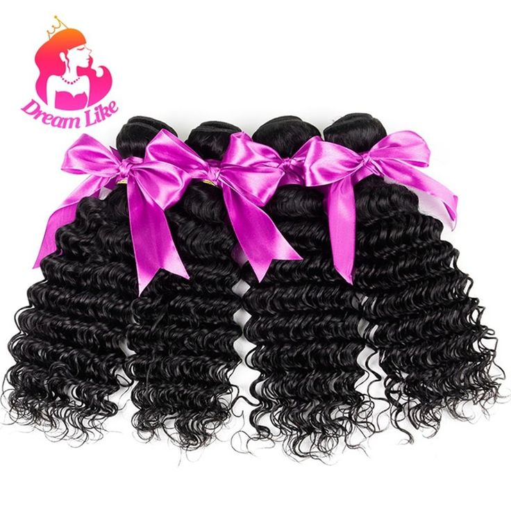 4 Bundles Deep Wave Brazilian Virgin Hair Deep Curly Human Hair Extensions Weft | Health & Beauty, Hair Care & Styling, Hair Extensions & Wigs | eBay!