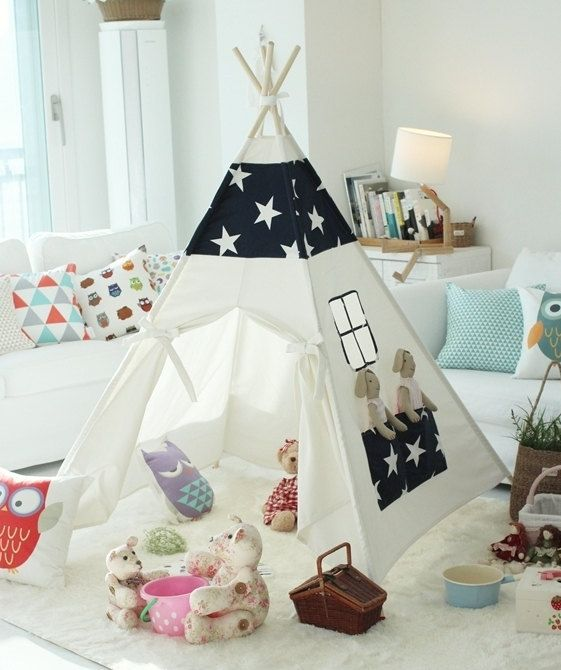 Hey, I found this really awesome Etsy listing at https://www.etsy.com/listing/189811093/star-teepee-tent-children-play-tent