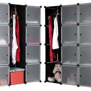 Storage Cabinet For Hanging Clothes