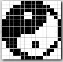Jing Jang in pixels