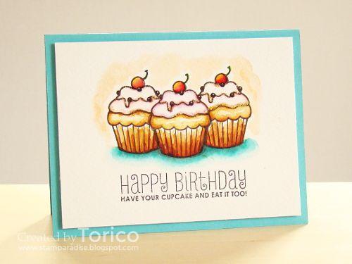 mama elephant | design blog - carnival cupcakes