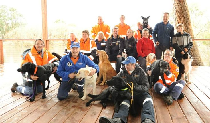 Victorian Volunteer Search and Rescue Dog handlers meet with the Federal Member for Wannon, The honorable Dan Tehan MP.