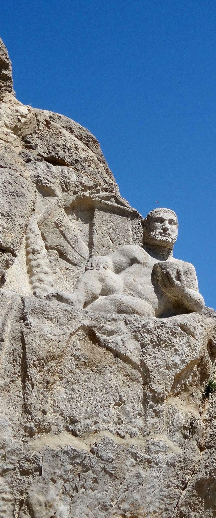Seleucid Statue of Herakles, Bisotun, Iran