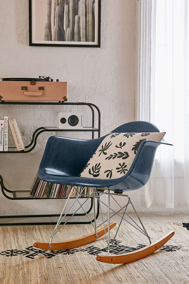 Shop Modernica Fiberglass Arm Shell Rocking Chair At Urban Outfitters Today.
