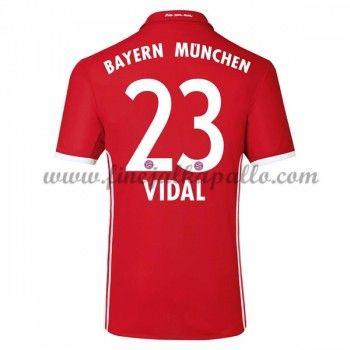 Jalkapallo Pelipaidat Bayern Munich 2016-17 Vidal 23 Kotipaita