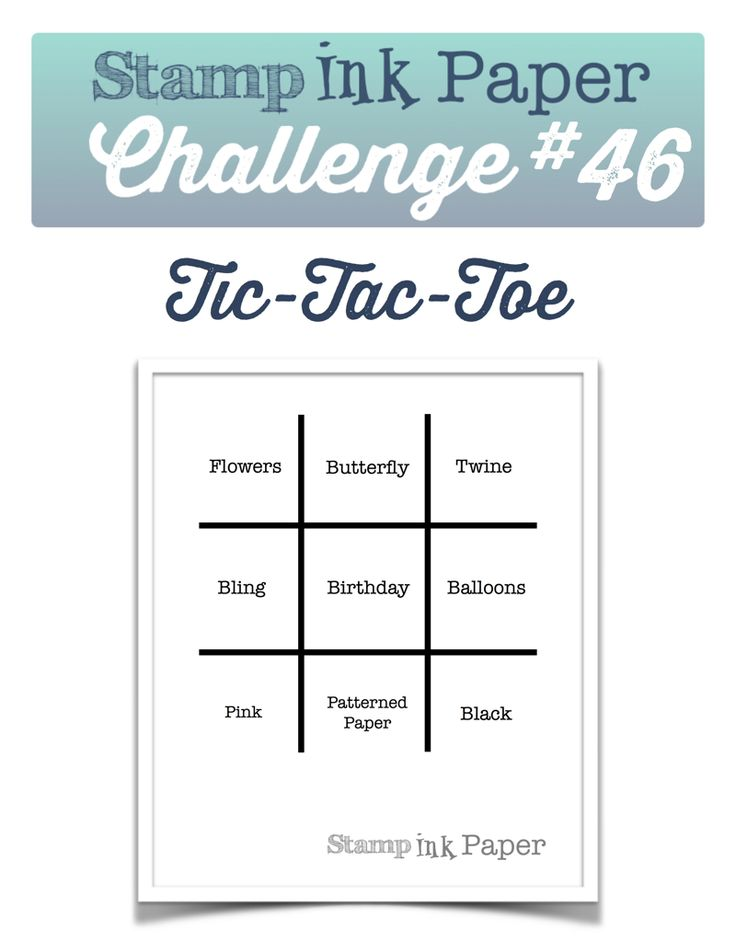 Best Challenges TicTacToe Images On   Card