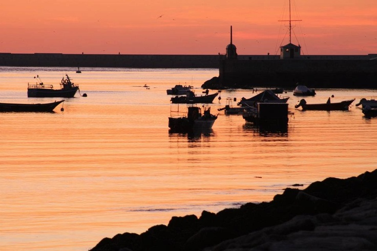 Our rivermouth by sunset, by Sandra Aires http://www.facebook.com/oportocity