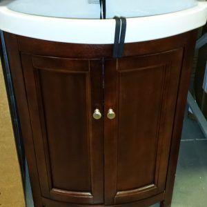 Bow Front Bathroom Vanity