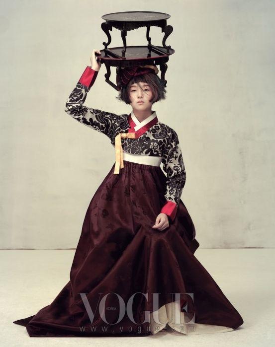 jamaica byles: Vogue Korea:Harvest Feast