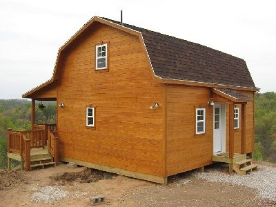 Gambrel cabins for sale in ohio amish buildings shed for Gambrel barns for sale