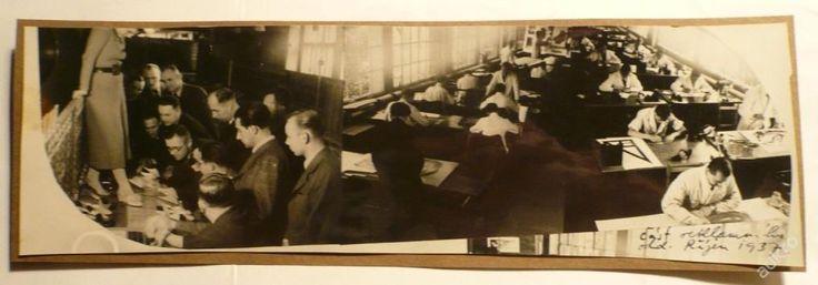 BAŤA - REKLAMNÍ ODDĚLENÍ, říjen 1937 !!!