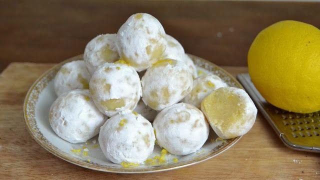 Trufas de leche condensada y limón | Comparterecetas.com