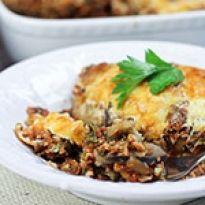 Εύκολη συνταγή μουσακάς λαχανικών με μπεσαμέλ, χωρίς κιμά, ελαφρύς, υγιεινός και χορτοφαγικός.