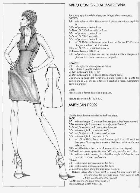 106 best pattern drafting images on pinterest sewing for Il modellismo burgo
