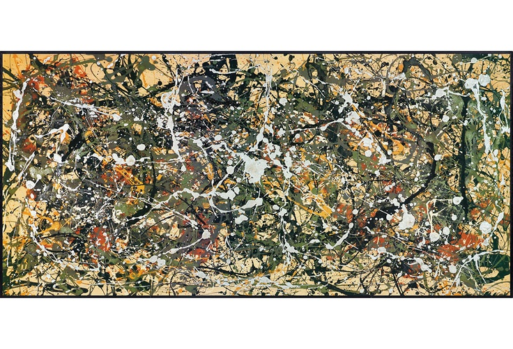 Pollock, Number 8 1949 on One Kings Lane today