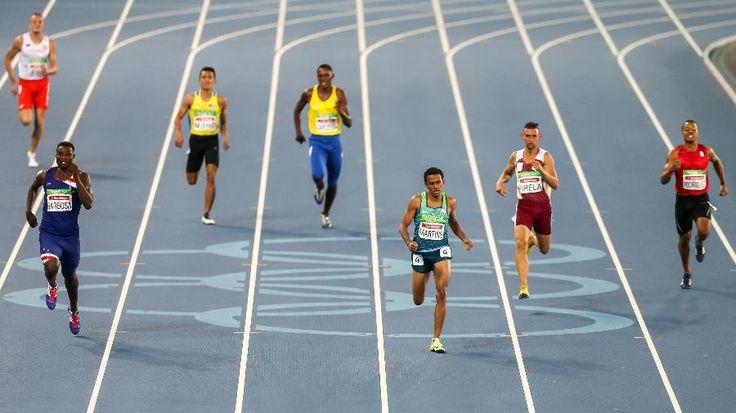 Aros olímpicos não são permitidos nos Jogos Paraolímpicos. Mas Engenhão ainda…