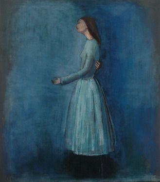 "Saatchi Online Artist June Sira; Painting, ""The Kiss"" #art"