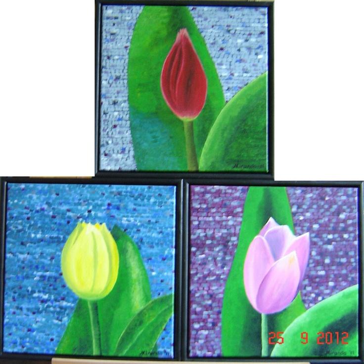 Drieluik tulpen (2011)