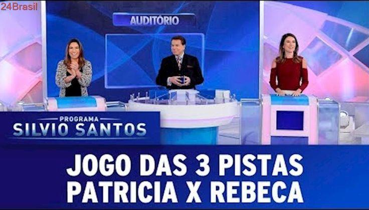 Jogo das 3 Pistas - Patricia Abravanel X Rebeca Abravanel | Programa Silvio Santos (15/10/17)