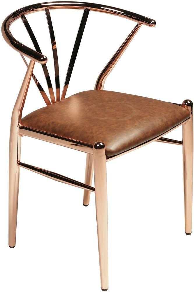 Delta stol - Koppar / brun - 2995