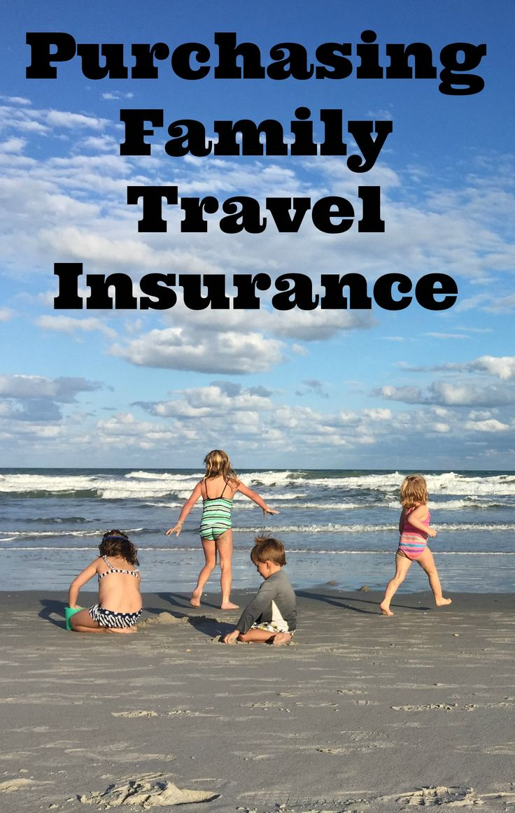Travel insurance is one smart way to protect your family along with the financial investment you've made in travel.  BUT the bottom line is that purchasing family travel insurance is really confusing. I've spent hours pouring through options and quotes so you don't have to. Here are the basics of what you need to know about purchasing family travel insurance.  #familytravel #travelwithkids #traveltips #insurance #travel