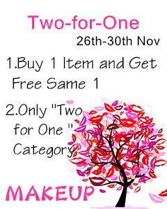 Black Friday Makeup Buy 1 and Get 1 for Free