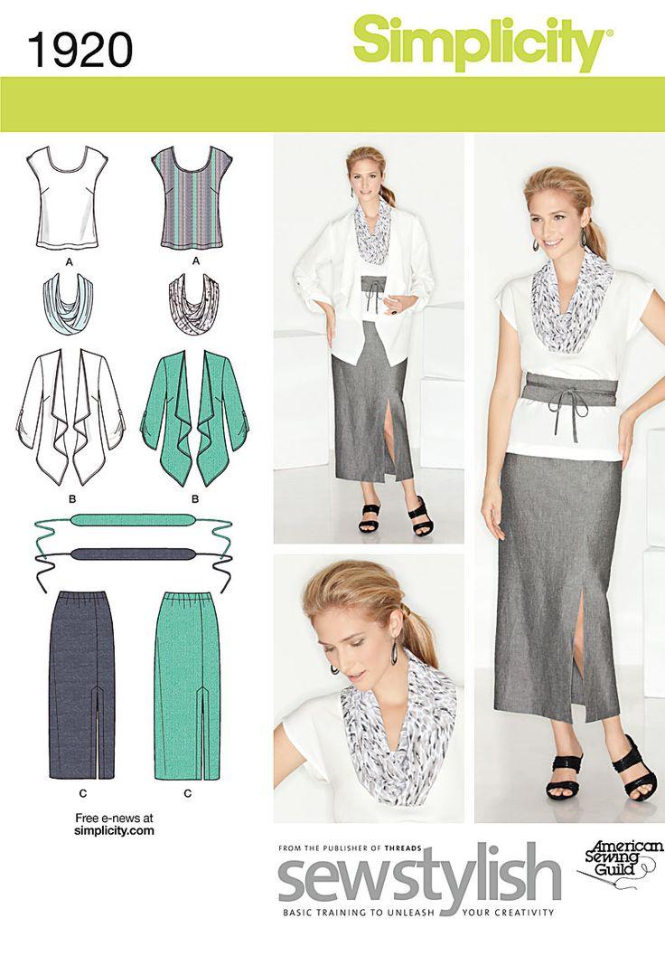 Simplicity Creative Group - Misses' & Plus Size Sportswear
