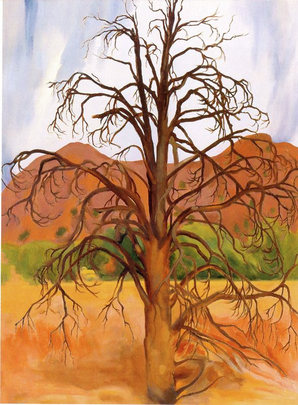 trees: georgia o'Keeffe