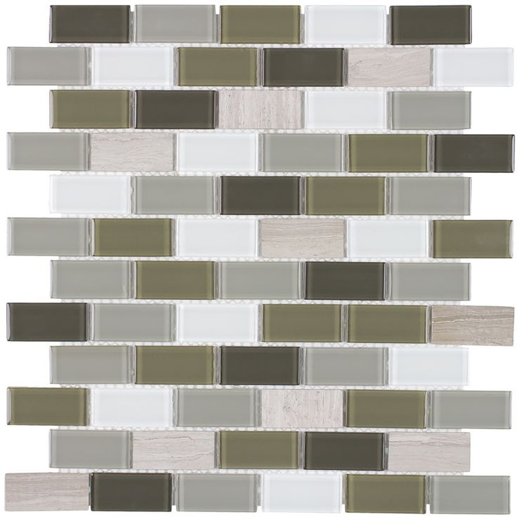 Peel Stick Glass Mosaic Tile Portofino