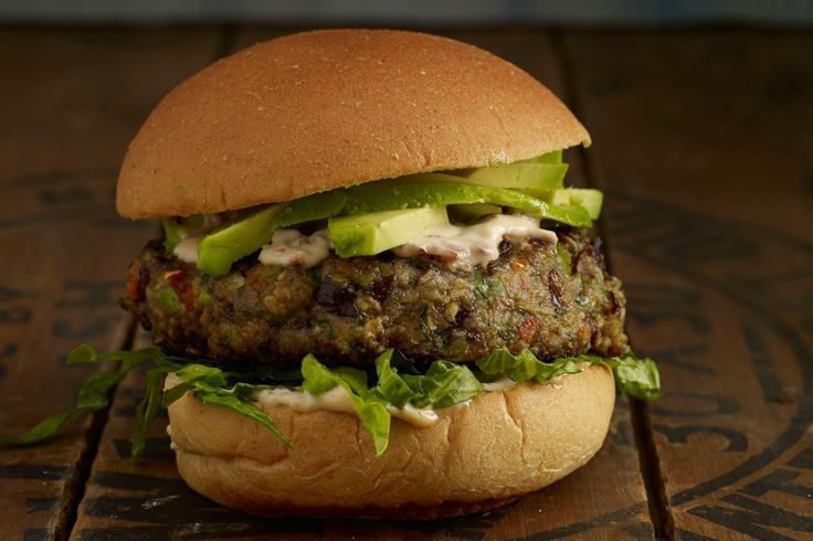 Take one bite of theseSpicy Black Bean Burgers with Chipotle Mayo from The Skinnytaste Cookbook and you'll understand why we love this recipe so much. Packed with fiber, protein and iron, black beans are not only nutritious but budget-friendly too! Two small tricks: Freeze the patties before you cook them so they keep their shape. …