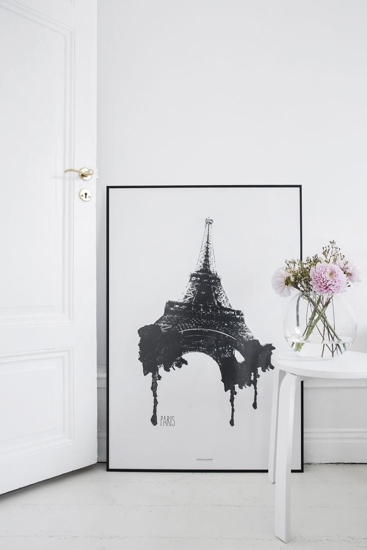 We all have Paris in our hearts. Let the eiffel tower be a guest in your home. Designed by our lovely designer MHMP.