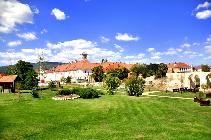 Inside Alba Iulia fortress