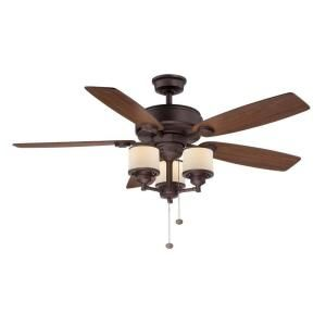 Home Depot :: Hampton Bay Waterton II 52 in. Oil Rubbed Bronze Ceiling Fan-AG510-ORB at The Home Depot $139   * one of the least sucky I've seen as far as ceiling fans go... *