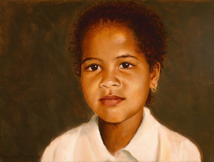 Tess, oil on canvas, 40 x 30 cm by Patty van Loon