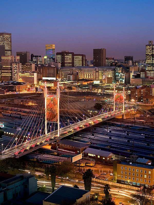Bright lights,Big City & Mandela Bridge Looking Beautiful.