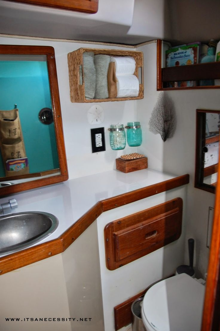 Itu0027s A Necessity. Houseboat IdeasShelf IdeasSailboat InteriorSailboat  DecorBoat ...