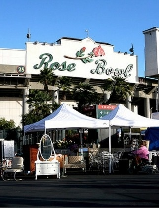 Rose Bowl Flea Market Pasadena, CA: From high-profile designers to antique collectors and vintage clothing fanatics, people have been flocking to this legendary flea for over 50 years. And we can see why: With over 2,500 vendors, you're bound to find whatever you're looking for at the Rose Bowl. Keep your eyes peeled for celebs, too—both Heidi Klum and Jessica Alba have been spotted there. 1001 Rose Bowl Dr., Pasadena, CA