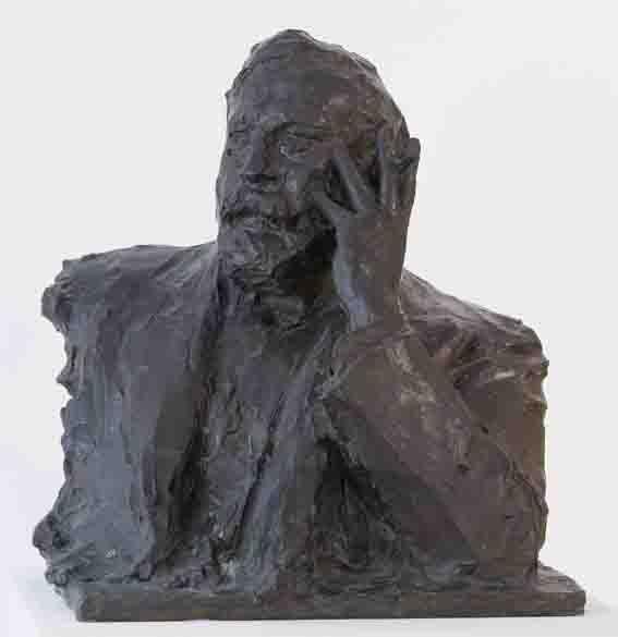 Ritratto del pittore Arturo Rietti | Paul Troubetzkoy | 1911 | scultura | bronzo |
