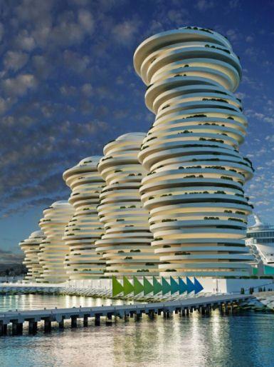 Proposed New Port and Marina, Larnaca, Cyprus.