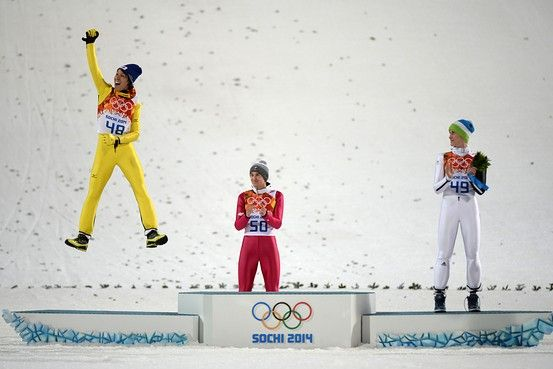 Noriaki Kasai Wins Silver Medal for Japan in Olympic Ski-Jumping - Japan Real Time - WSJ