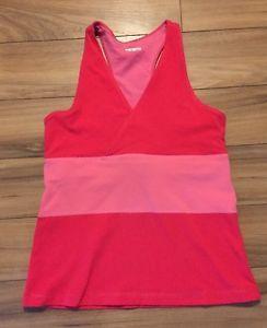 Lululemon Womens Tank Top Pink Hot Wet Dry Warm Small | eBay