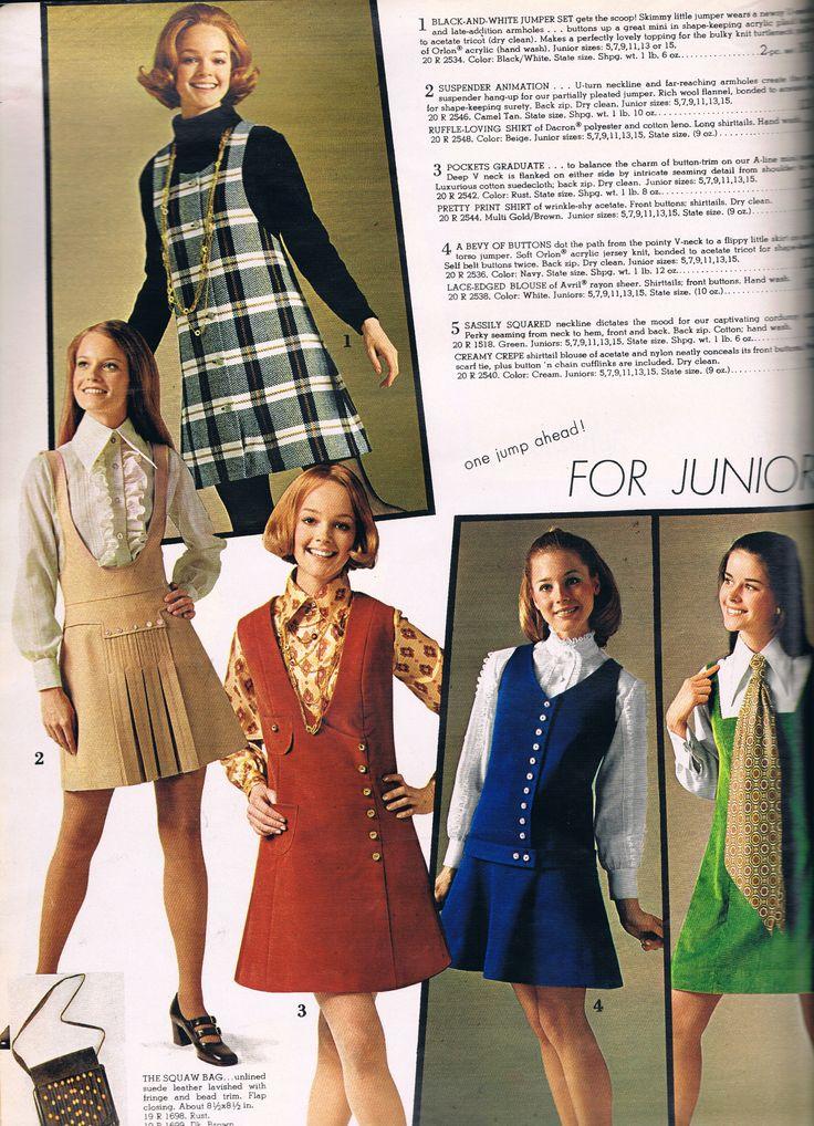 Spiegel 1970 Junior Fashion Decades Fashion 1960s Fashion