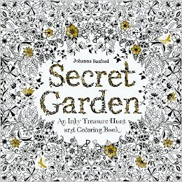 Secret Garden An Inky Treasure Hunt And Coloring Book By Johanna Basford Pages